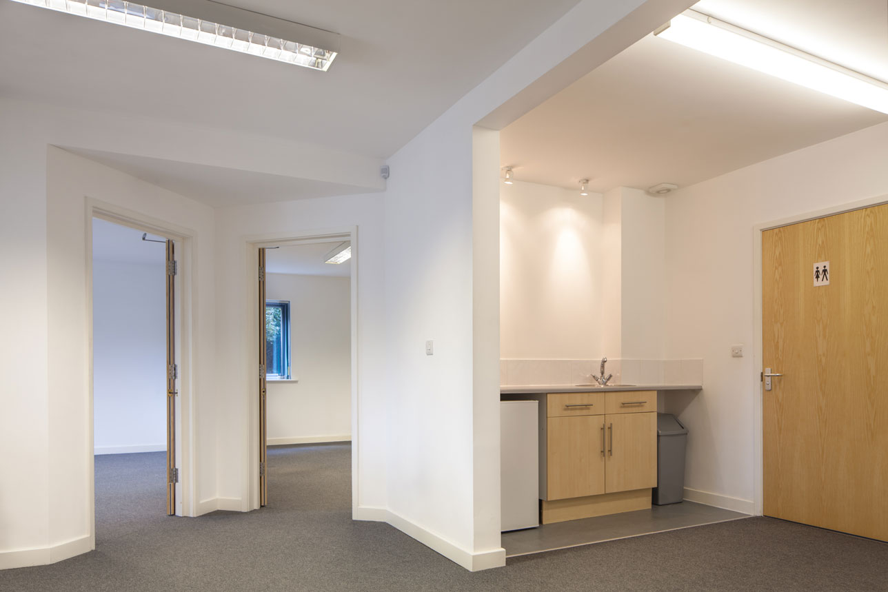 First floor kitchen office space to let - The Design Centre Warminster