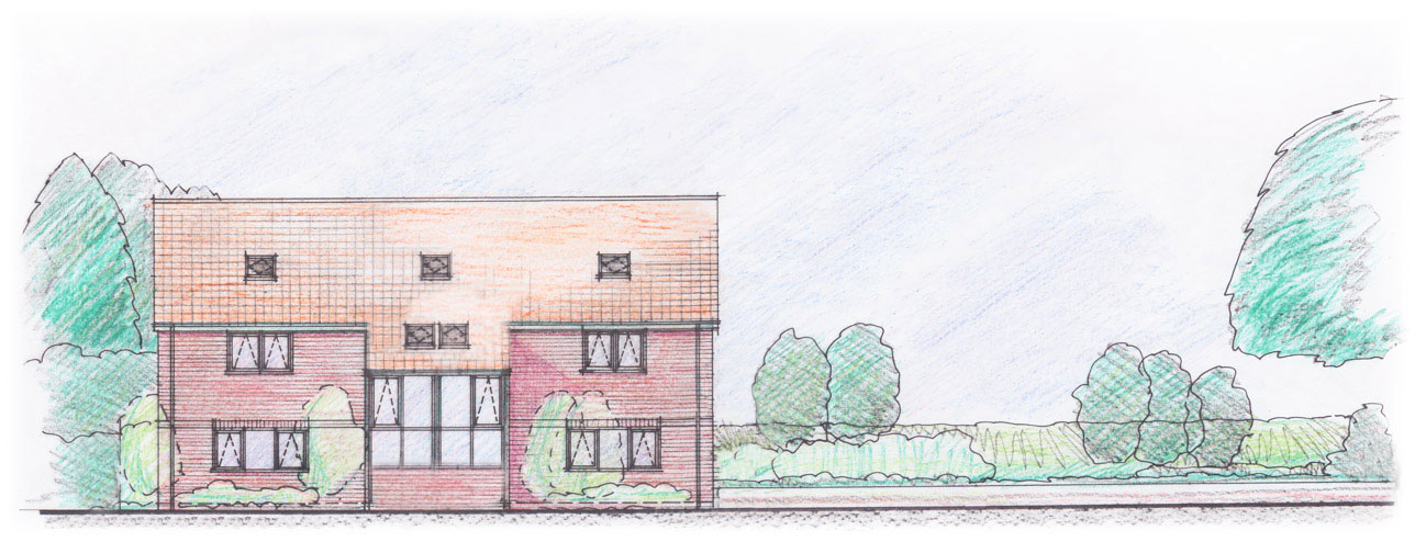 The Design Centre Warminster office space sketch